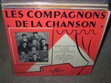 "COMPAGNONS DE LA CHANSON self titled ( world music ) 10"" france"
