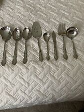 Oneida Dover Cube 8 Serving Pieces  Stainless Flatware