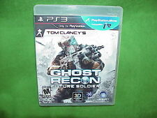 Tom Clancy's Ghost Recon: Future Soldier 3D Sony PlayStation 3, 2012 PS3 - MINT!