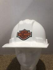 Helmet Hard Hat 4 Point Suspension Construction Work Harley Decals
