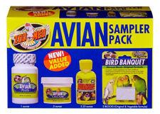 Zoo Med Avian Sampler Pack - Vitamins Calcium Water Conditioner Mineral Blocks