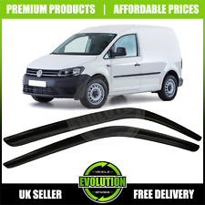 VW CADDY 2004-2016 WIND RAIN SMOKE DEFLECTORS VISORS EXTERNAL FIT