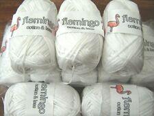 Job lot of  100% Cotton  Knitting Yarn ribbon type yarn 10 x 100g