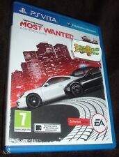 Need For Speed Most Wanted Playstation VITA PSVITA NEW SEALED UK SELLER