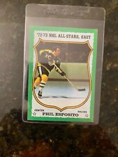 1973-74 Topps Hockey #120 PHIL ESPOSITO ALL-STAR......Only $2.22 Night!