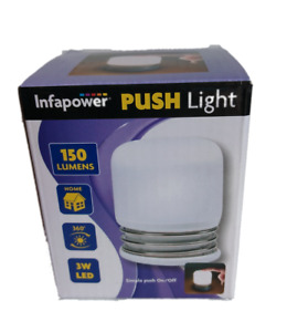 Pack of 3 Push Lights: Superb  For Camping - Emergencies -  Motoring - DIY etc.