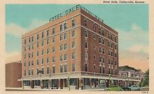 Hotel Dale in Coffeyville KS Postcard