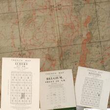 Reprint British WW1 Pack 01 WW1 Trench Maps, Belgium ST 28, Albert, Messines BOK