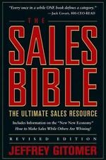 The Sales Bible: The Ultimate Sales Resource, Revised Edition, Jeffrey Gitomer,
