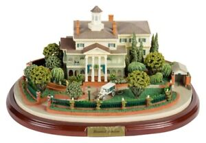 Disneyland Robert Olszewski Haunted Mansion Miniature with 3 scenes