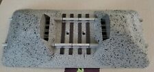LIONEL FASTRACK O GAUGE EARTHEN BUMPERS *NO BOX*NO WOOD STUDS***(PAIR-2) 6-12059