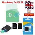 32GB Ultra Micro SD SDHC Ultra TF Memory SD Card SDHC UHS-1 w/ADAPTER Class 10