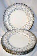 Copeland Spode Fleur de Lys Grey  Dinner Plate