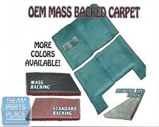 1964-67 GM A Body Mass Backed Molded Carpet for 4 Speed Transmission