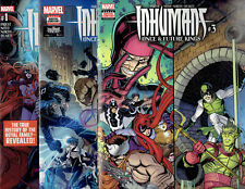 INHUMANS: ONCE AND FUTURE KINGS #1 2 3 DIGITAL CODE AND COMIC 2017 MARVEL!