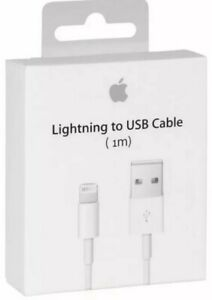 100% GENUINE ORIGINAL OFFICIAL iPhone 6,7,8,X/XS,11 Lightning Charger USB Cable