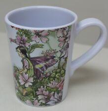 Flower Fairies Melamine Cup Plastic Drinks Mug Pink Purple Floral Fairy