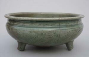 Chinese Ming Celadon Censer, 16th - 17th Century.