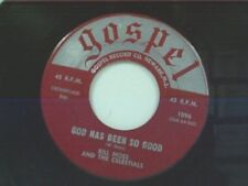 """BILL MOSS """"GOD HAS BEEN SO GOOD / JUST THE TWO OF US"""" 45"""