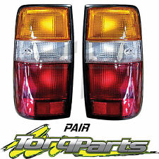 TAILLIGHTS PAIR SUIT TOYOTA LANDCRUISER 80 SERIES 90-98 TAILLAMPS TAIL LIGHTS