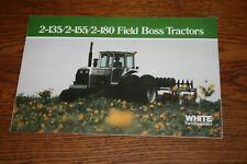 White Farm Equipment Field Boss Tractors Sales Brochure