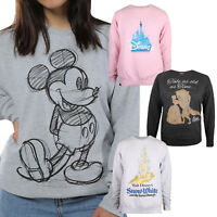 Disney - Ladies - Jumpers - Beauty & the Beast - Mickey Mouse - Size S,M,L,XL