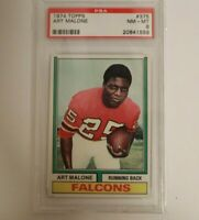 1974 Topps #375 Art Malone PSA NM-MT 8
