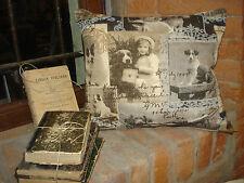 Cuscino in lino, 30 x 30 cm, 100 %lino, produzione artigianale