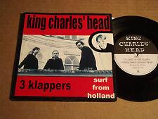 """KING CHARLES' HEAD - 3 KLAPPERS / ON STRIKE - 7""""-SPLIT-EP (9)"""