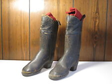 ANTIQUE CIVIL WAR ERA BOY'S LEATHER MILITARY BOOTS POSSIBLY UNION SOLDIER'S SON