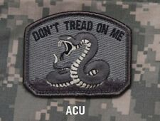 DON'T TREAD ON ME - ACU - TACTICAL COMBAT OIF BADGE MORALE MILITARY PATCH