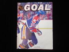 December 13, 1983 Edmonton Oilers @ New York Islanders NHL Goal Magazine EX