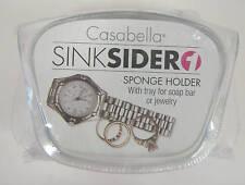 NEW CASABELLA SINK SIDER SPONGE HOLDER SOAP JEWELRY