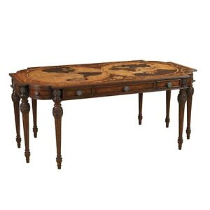 Map Writing Desk by Maitland Smith