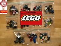 5 Genuine Lego Mini Figures Mixed Bundle Job Lot Collection