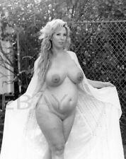 Pregnant Nude 8X10 Original Photo Maternity B&W Fine Art - DG Krista A4.15