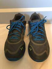 Men's Under Armour Spine Venom 7.5 Blue Grey Tennis Shoes Running