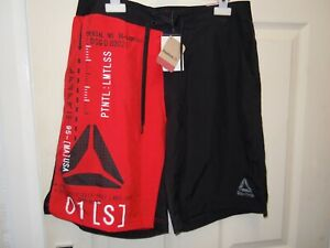REEBOK CROSSFIT EPIC LIGHTWEIGHT SHORTS BNWT MENS MEDIUM 32/34