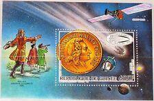 GUINEA 1986 Block 212 A S/S 990 Halleyscher Komet Halley´s Comet Space Weltraum
