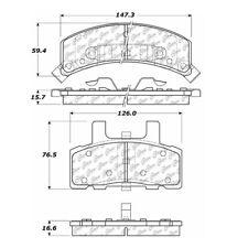 StopTech Street Brake Pads fits 1988-2002 GMC Safari C1500,C2500,K1500,K2500 C25