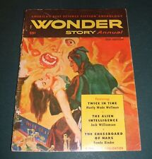 Wonder Story Annual for 1951 Vintage Pulp Wellman, Williamson, Binder, Cover Art