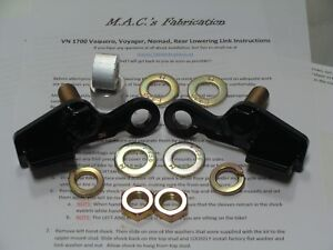 Kawasaki Vulcan VN 1700 Voyager Lowering link kit 10 11 12 13 14 15 16 17 18 19