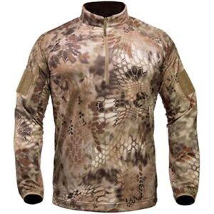 Kryptek Cammo Valhalla Zip Shirt Top Layer Hunting Outdoors Men's Boys XS NWT