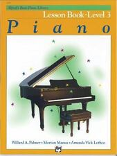 Alfred`s Basic Piano Course: Lesson Book - Level 3 by Willard A. Palmer, (Paperb