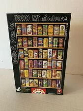 1000 pcs jigsaw Educa Classic Soda Cans Series Puzzle