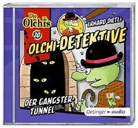 DIE OLCHIS: OLCHI-DETEKTIVE (20) DER GANGSTER-TUNNEL - DIETL,ERHARD  CD NEU
