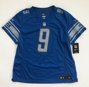 Women's 2XL Matthew Stafford Detroit Lions Modern Style Nike Blue Game Jersey
