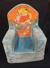 PLUSH FOAM CHAIR TODDLER CHAIR DISNEY Winnie The Pooh Removable Cover