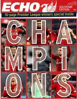 LIVERPOOL FC 2020 CHAMPIONS LIVERPOOL ECHO SPECIAL ISSUE . Posted from LIVERPOOL