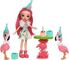 "Enchantimals Let's Flamingle Playset & Doll 6"" New New"